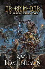 bargain ebooks Og-Grim-Dog: The Three-Headed Ogre Humorous Fantasy by Jamie Edmundson