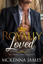 bargain ebooks Royally Loved Box Set Contemporary Romance by Mckenna James