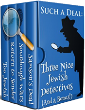 bargain ebooks Such A Deal: Three Nice Jewish Detectives Mystery by Julie Smith, Shelley Singer, Dick Cluster, Patty Friedmann