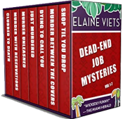 bargain ebooks The Dead-End Job Mysteries: Volume 1-7 Cozy Mystery by Elaine Viets