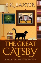 bargain ebooks The Great Catsby Cozy Mystery by B.K. Baxter