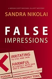 amazon bargain ebooks False Impressions Mystery by Sandra Nikolai