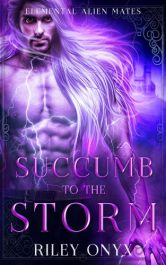 bargain ebooks Succumb to the Storm Sci Fi Romance by Riley Onyx