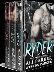 bargain ebooks The Lost Breed MC Box Set Romance by Ali Parker
