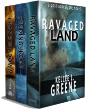 bargain ebooks The Ravaged Land Series - Books 1-3 Science Fiction by Kellee L. Greene