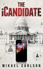 bargain ebooks The iCandidate Thriller by Mikael Carlson