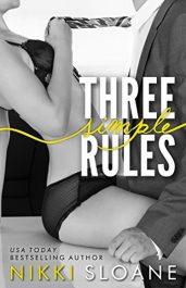 bargain ebooks Three Simple Rules Erotic Romance by Nikki Sloane