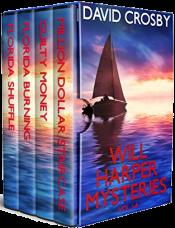 bargain ebooks Will Harper Florida Thrillers: Vol. 1-4 (Will Harper Mysteries) Mystery/Thriller by David Crosby