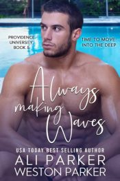 bargain ebooks Always Making Waves New Adult Romance by Ali & Weston Parker