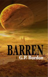 amazon bargain ebooks Barren Scifi Adventure by G.P. Burdon