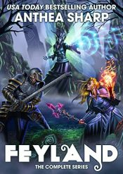 amazon bargain ebooks Feyland: The Complete Series Fantasy by Anthea Sharp