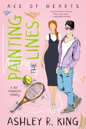 amazon bargain ebooks Painting the Lines Romantic Sports Comedy by Ashley R. King