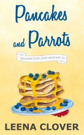 bargain ebooks Pancakes and Parrots Cozy Mystery by Leena Clover
