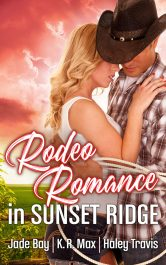 bargain ebooks Rodeo Romance In Sunset Ridge - 3 Sweet & Steamy Cowboy Romances Western Romance by Haley Travis