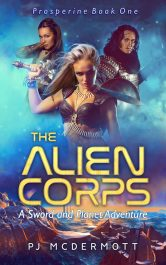 amazon bargain ebooks The Alien Corps Galactic Empire Science Fiction Adventure by PJ McDermott