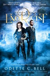 bargain ebooks Today's Exorcist Book One Urban Fantasy Thriller by Odette C. Bell