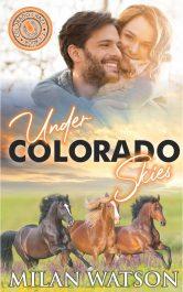bargain ebooks Under Colorado Skies Western Romance by Milan Watson