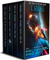 bargain ebooks Archangel Project : Books 1-3 and Bonus Novella Science Fiction by C. Gockel