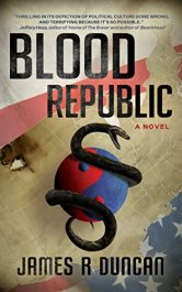 bargain ebooks Blood Republic Thriller by James R Duncan