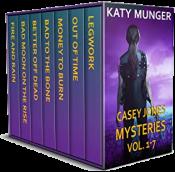 bargain ebooks Casey Jones Mysteries Vol. 1-7 (Casey Jones Mystery Series) Mystery by Katy Munger