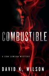 bargain ebooks Combustible Hard-Boiled Detective Mystery by David K. Wilson