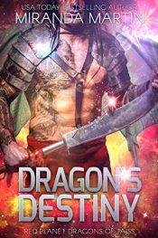 amazon bargain ebooks Dragon's Destiny Science Fiction Romance by Miranda Martin