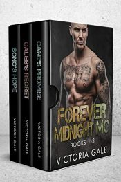 bargain ebooks Forever Midnight MC Collection: Book 1-3 Romantic Suspense by Victoria Gale