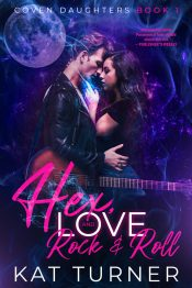 bargain ebooks Hex, Love, and Rock & Roll Paranormal Romance by Kat Turner