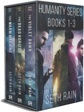 bargain ebooks Humanity Series Box Set Dystopian Science Fiction by Seth Rain