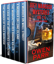 bargain ebooks Joey Mancuso Mysteries Vol 1-5 (Joey Mancuso, Father O'Brian Crime Mystery Series) Mystery by Owen Parr