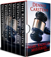 bargain ebooks Marc Kadella Legal Mysteries Vol 1-6 Mystery Thriller by Dennis Carstens