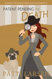 amazon bargain ebooks Patent Pending and Death Cozy Mystery by Patti Larsen