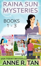 bargain ebooks Raina Sun Mystery Box Set Vol 1 (Books 1-3) Mystery by Anne R. Tan