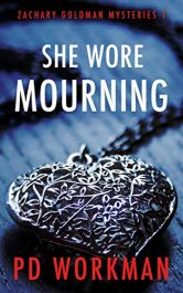 amazon bargain ebooks She Wore Mourning Crime Adventure by P.D. Workman