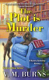 bargain ebooks The Plot is Murder Cozy Mystery by V.M. Burns