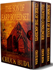 bargain ebooks The Son of Earp Series Box Set Western Horror by Chuck Buda