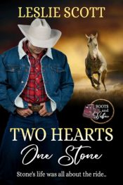 bargain ebooks Two Hearts One Stone Contemporary Romance by Leslie Scott