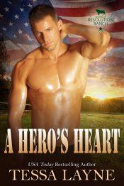 amazon bargain ebooks A Hero's Heart Contemporary Romance by Tessa Layne