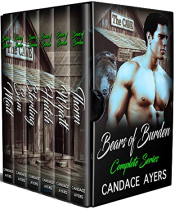 bargain ebooks Bears of Burden Romance by Candace Ayers