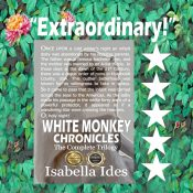 amazon bargain ebooks White Monkey Chronicles: The Complete Trilogy Speculative Science Fiction by Isabella Ides