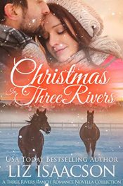 amazon bargain ebooks Christmas in Three Rivers Clean Christian Sweet Romance by Liz Isaacson