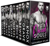 bargain ebooks Dead Souls MC Collection Contemporary Romance by Savannah Rylan