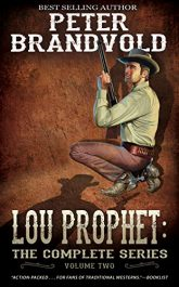 bargain ebooks Lou Prophet Collection Volume 2 Historical Western Men's Action/Adventure by Peter Brandvold