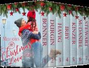 bargain ebooks Melodies of Christmas Love Christian Romance by Lynnette Bonner