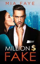 bargain ebooks Million Dollar Fake Contemporary Romance by Mia Faye