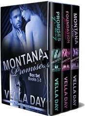 bargain ebooks Montana Promises Box Set (Books 1-3) Erotic Romance by Vella Day