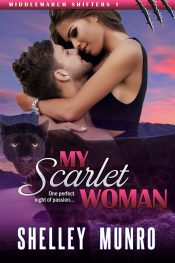 bargain ebooks My Scarlet Woman Paranormal Erotic Romance by Shelley Munro