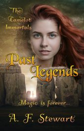 bargain ebooks Past Legends (The Camelot Immortals Book 1) Arthurian Fantasy by A. F. Stewart