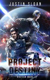 amazon bargain ebooks Project Destiny Science Fiction by Justin Sloan