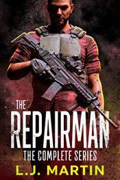 amazon bargain ebooks The Repairman Action Adventure by L.J. Martin
